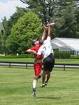 Trevor leaps